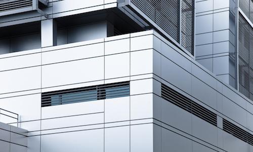 modernes Verwaltungsgebäude - Büro
